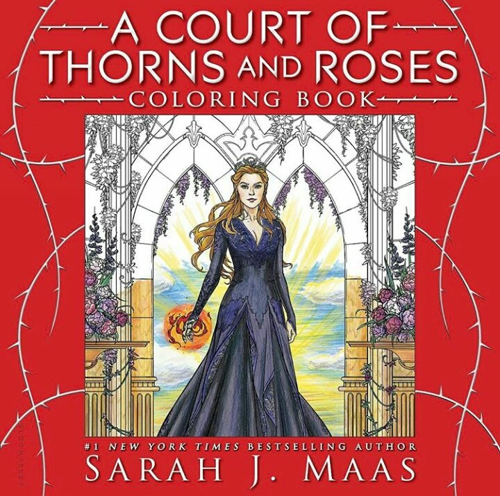 A court of thorns and roses coloring book a court of Coloring book wiki