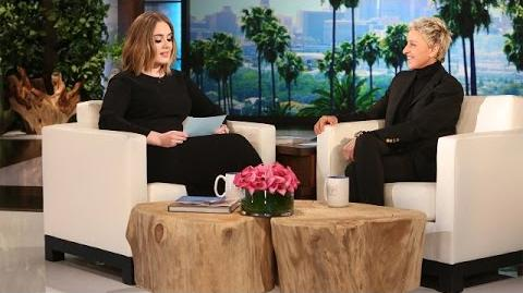 Hello, It's Adele (on Ellen's Voicemail)