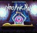 Ты создала меня!