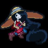 Marceline pixel by nekokamii-d4bh6sd