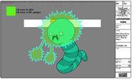 Modelsheet giantwormking zappingfinnjake specialpose