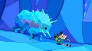 S1e15 Ice Bull chasing Finn and Neptr
