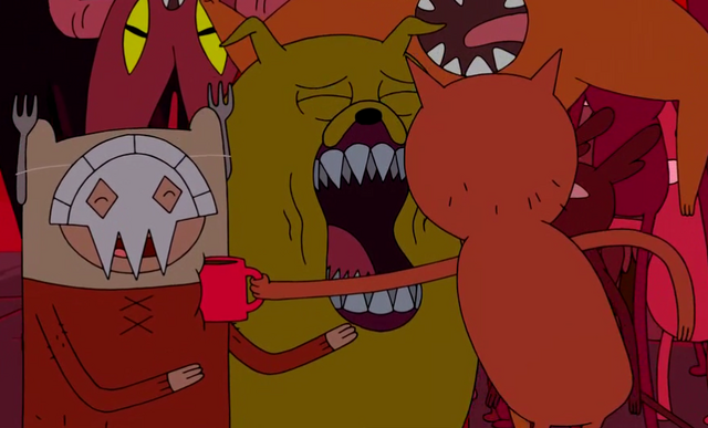 File:S4 E6 Line Demon hitting Finn with cup.png
