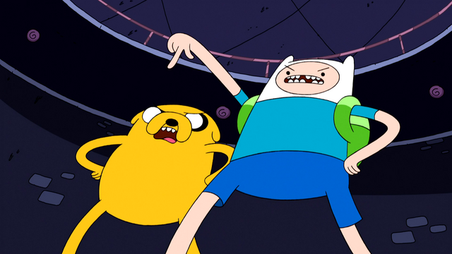 File:S4e20 Finn and Jake demanding.png