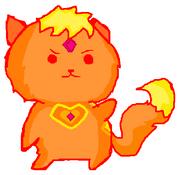 Flame Princess Kitty