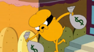 S5 e23 Jake stealing money