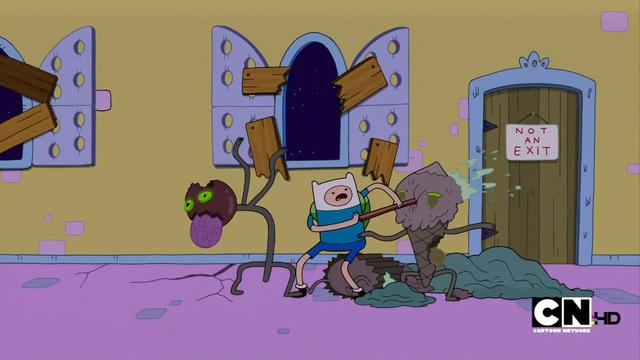 File:S1e1 finn stabbing zombie.png