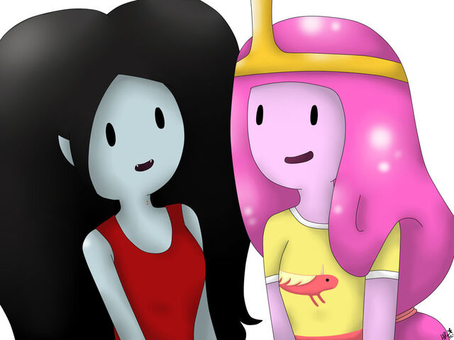 File:Marceline and bubblegum by hnrat-d4sspjp.jpg