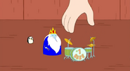 S5 e5 Tiny Ice King and drumset