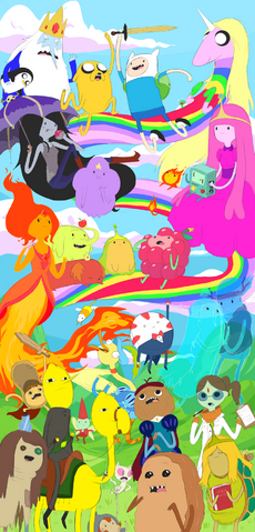 File:Adventure Time Collage.png