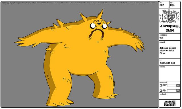 File:Modelsheet Jake as Desert Monster with Rims.jpg