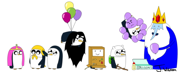 File:Adventure Time Gunther overload.png