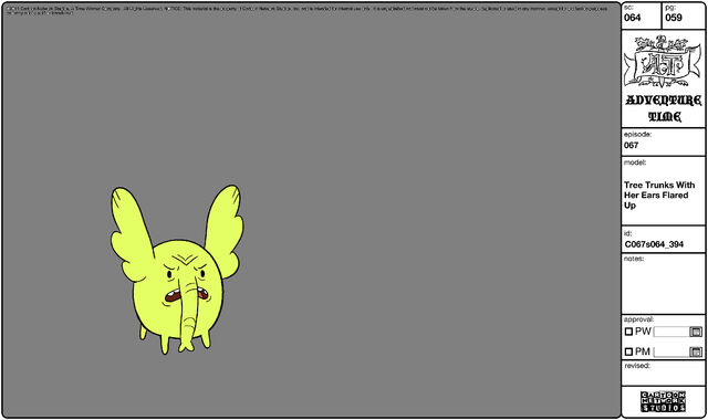 File:Modelsheet Tree Trunks with her Ears Flared Up.jpg