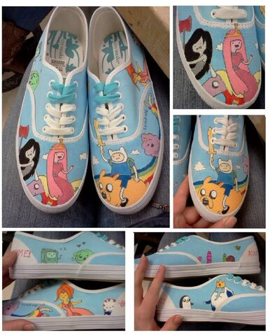 File:Adventure time shoes ii by kellanrenee-d5du3my.jpg