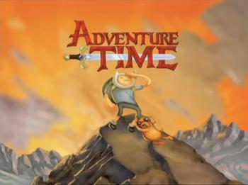 Adventure Time (Pilot) - Title Card