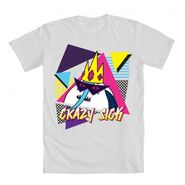 Crazy Sick IceKing white shirt