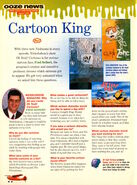 Nickelodeon Magazine August 1998 Fred Seibert interview Oh Yeah Cartoons