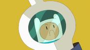 Finn Sword Frowning