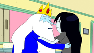 S4e25 Ice King trying to kiss Marceline