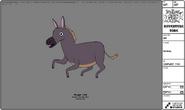 Modelsheet donkey