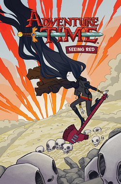 KABOOM Adventure Time Seeing Red