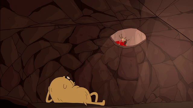File:S5e41 Kee-Oth throwing Samantha into pit.png