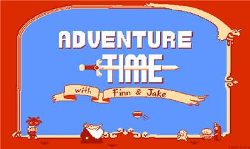 Adventure time mario game