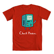 BMO Check Please Red Shirt