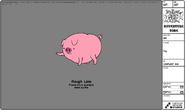 Modelsheet pig s4e21