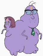 Lumpy space mom