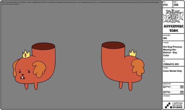 File:Modelsheet hotdogprincessmissingherbehind - daycolor.jpg