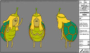 Modelsheet turtleprincessmissingpartofface - daycolor