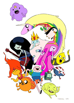 File:Adventure Time cast-1-.jpg