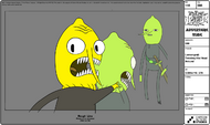 Modelsheet Lemongrab Twisting His Head Around