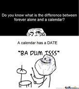 Lol forever alone meme