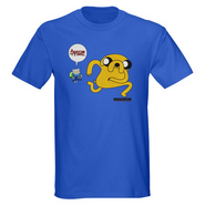 Adventure Time Tee Blue