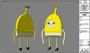Modelsheet bananaman withrims