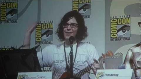 Comic-Con 2012 Adventure Time Panel Rebecca Sugar's Music