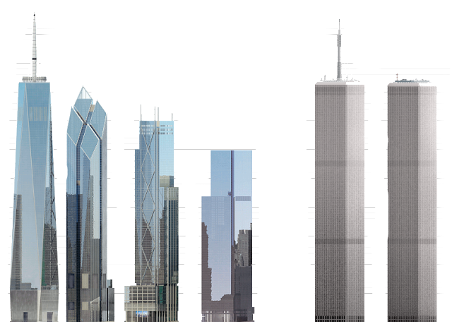 File:New and Old World Trade Center.png