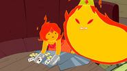 S5 e12 Flame King interupting FP's card game