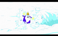 S1e3 ice king summoning snow creatures.png