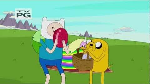 Adventure Time - Up a Tree (short preview)