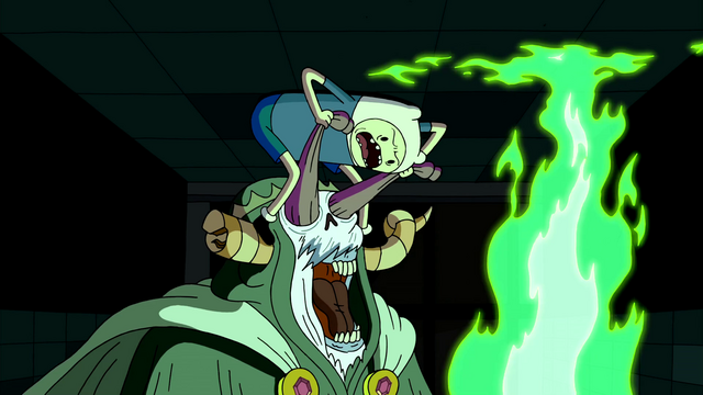 File:S2e24 Finn attacking Lich with sweater.png