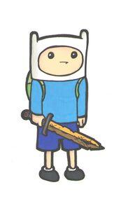 Adventure time finn sketch by sqeaver-d3ck2wf