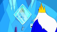 S2 e3 Ice King looking in the mirror