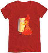 Finn and Flame Princess Hug T-Shirt