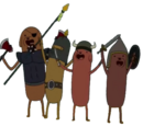 Hot Dog Knights