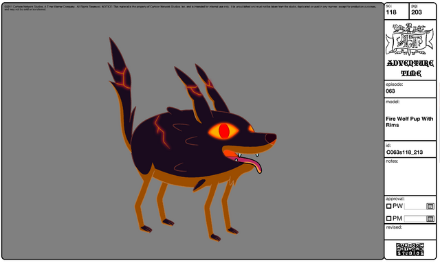 File:Modelsheet Fire Wolf Pup with Rims.png