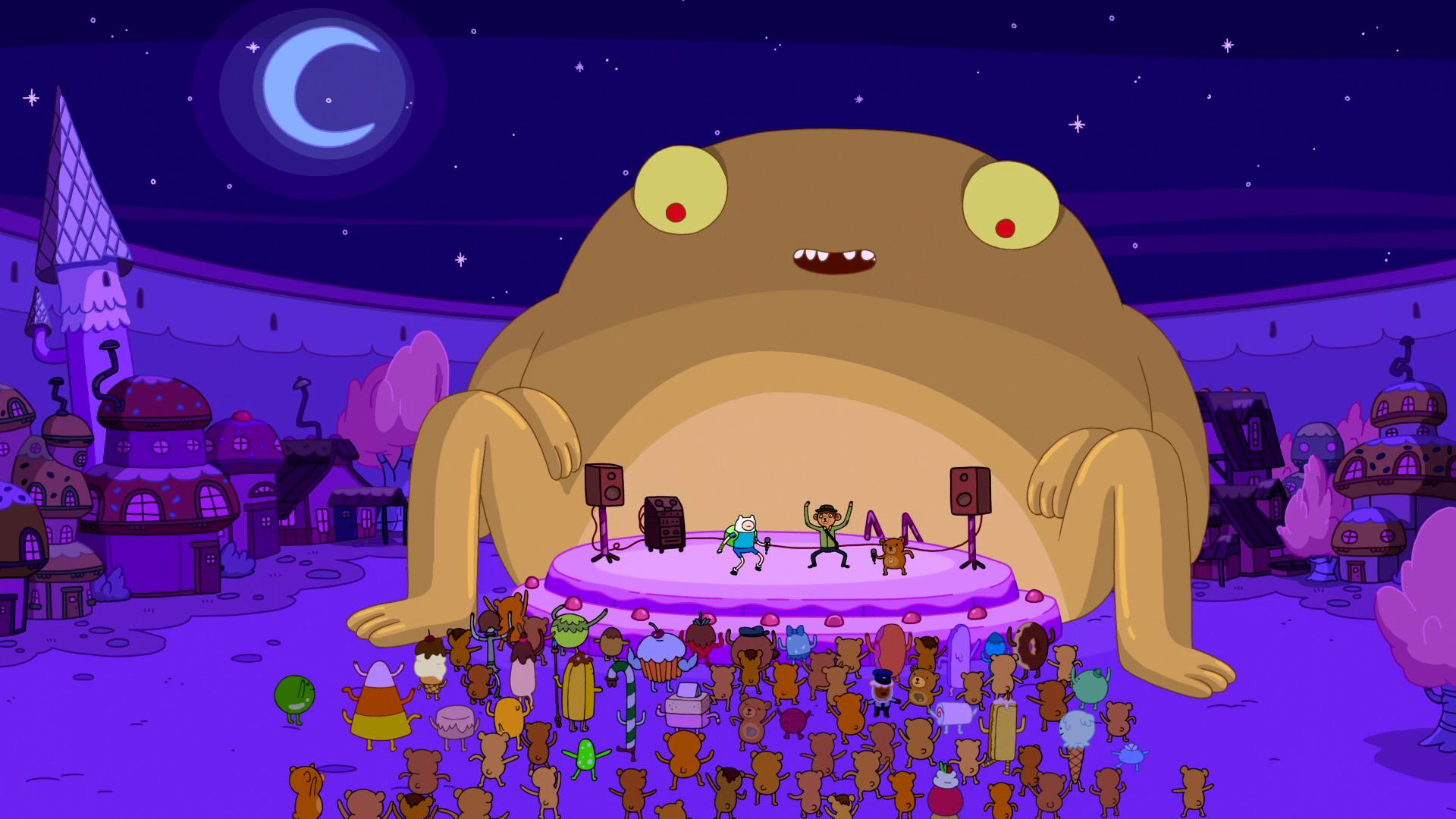 Rap Bear Amp Finn S Rap Adventure Time Wiki Fandom