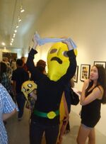Tomas herpich as lemongrab